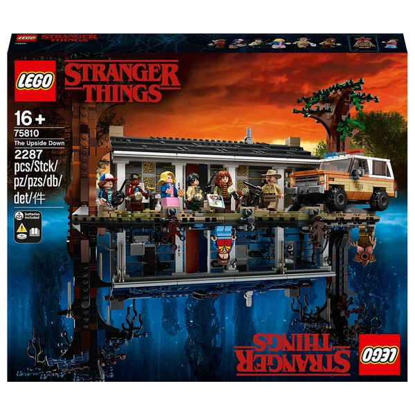 LEGO 75810 Stranger Things The Upside Down Toy Set