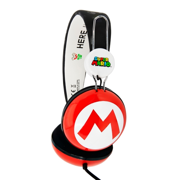 Super Mario Icon Tween Headphones