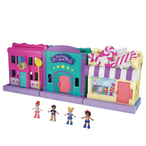 Polly Pocket Pollyville Playset