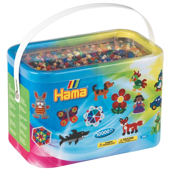 Hama Beads And Pegs Case Smyths Toys Uk