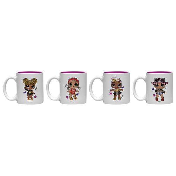 L.O.L Surprise Glitter Squad Mini Mug Set
