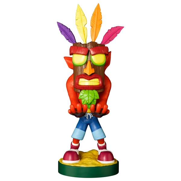 Crash Bandicoot Aku Cable Guy - Phone and Controller Holder