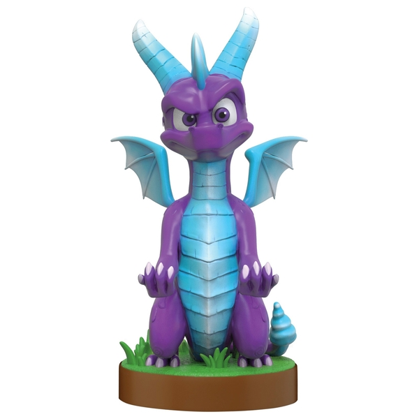 Ice Spyro Cable Guy - Phone and Controller Holder