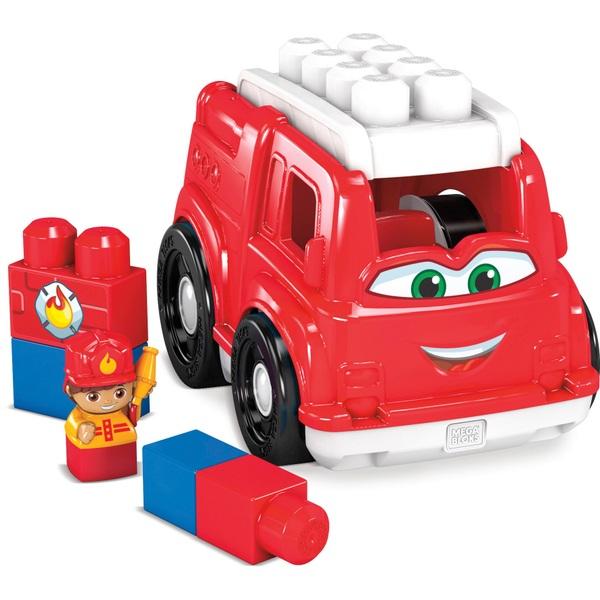 Mega Bloks Lil Vehicles Freddy Firetruck Blocks for Toddlers
