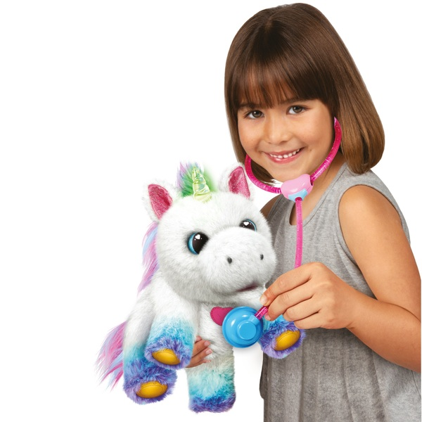 Little Live Rainglow Unicorn Vet Set