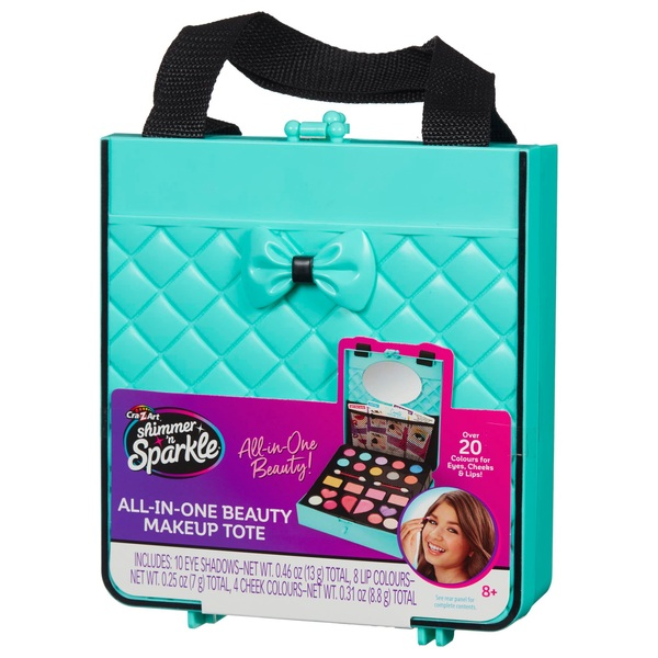 Shimmer 'n Sparkle All in One Beauty Make Up Tote