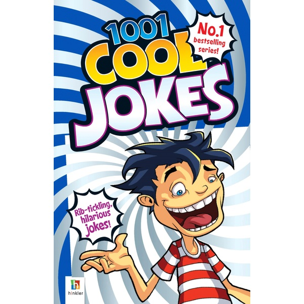 1001 Cool Jokes PB Book