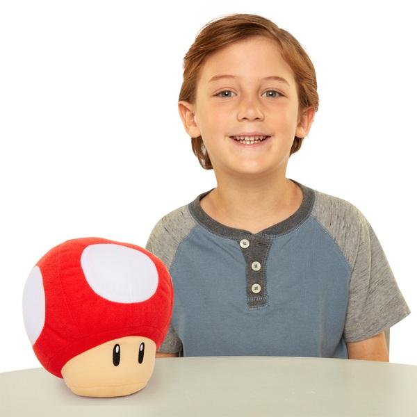 Nintendo Sound Effects Plush Red Power Up Mushroom