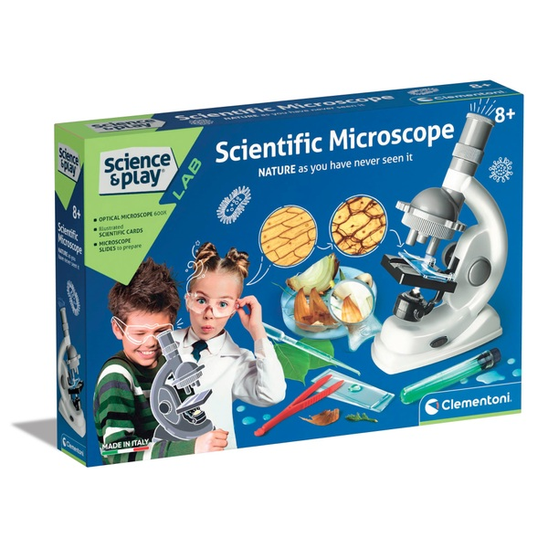 Clementoni Science & Play Scientific Microscope
