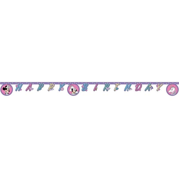 Partybedarfpartydeko - Minnie Mouse Partykette, Einhorn - Onlineshop Smyths Toys