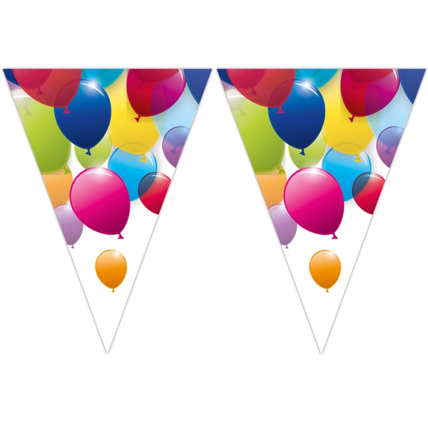Partybedarfballons - Procos Flying Balloons Wimpelkette - Onlineshop Smyths Toys