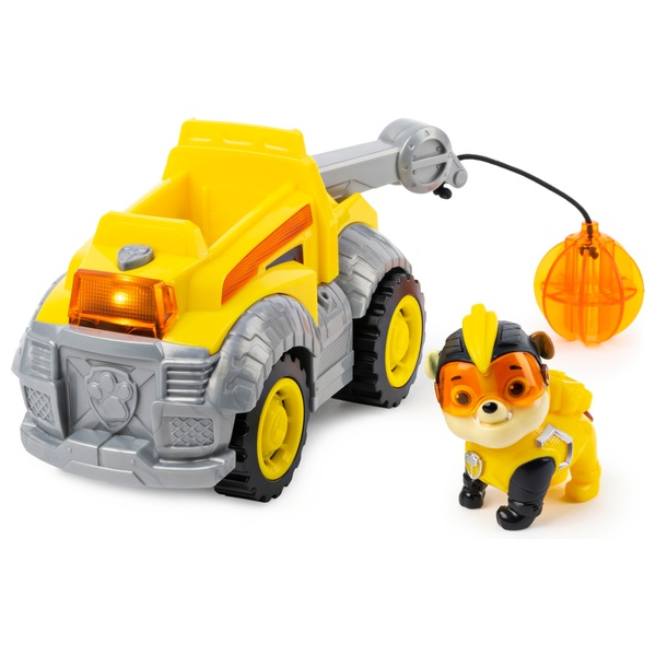 PAW Patrol Mighty Pups Super Paws Deluxe Vehicle - Rubble