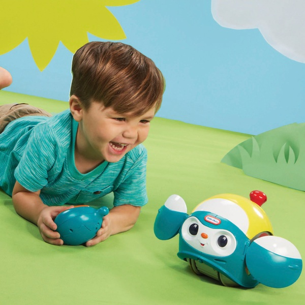 Little Tikes Fantastic Firsts Spinning RC Blue
