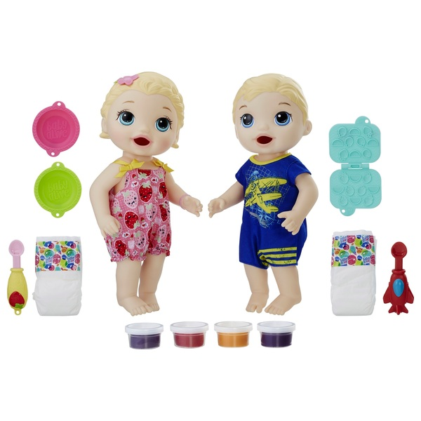 Baby Alive Snackin' Twins Luke and Lily