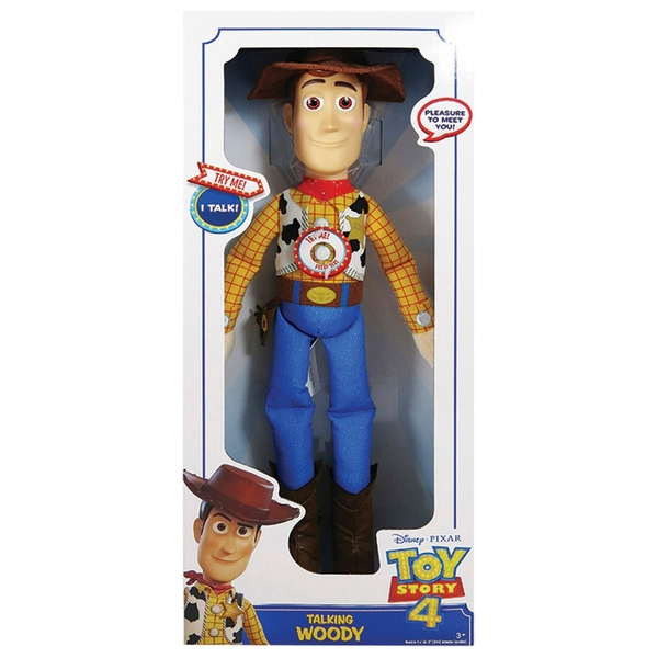 Toy Story 4 Large Talking Plush Woody