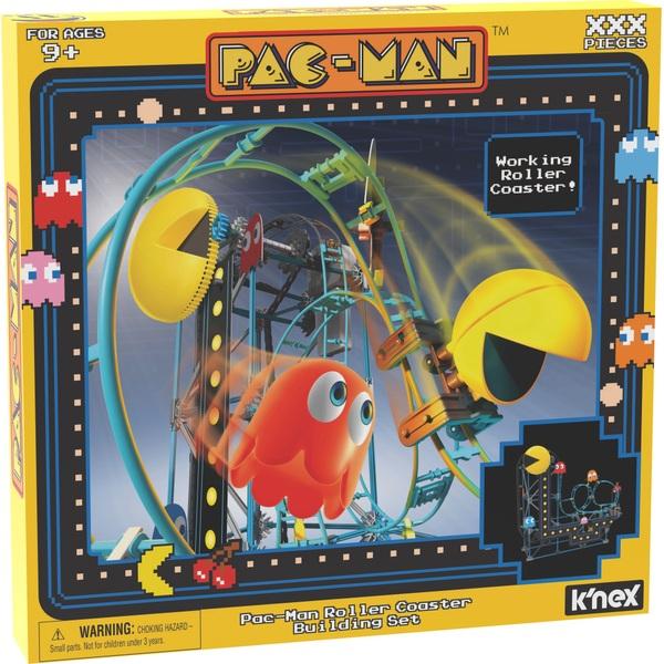 K'NEX Pac-Man Roller Coaster Building Set