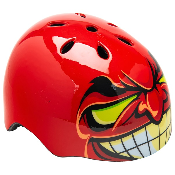 Xtrovert Brain Bucket Helmet El Diablo