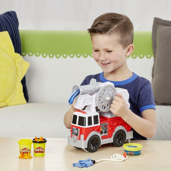 Play-Doh Wheels Fire Truck