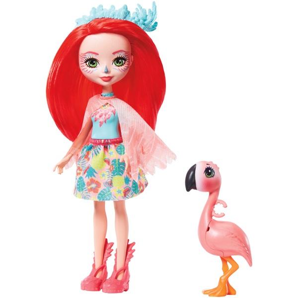 Enchantimals Fanci Flamingo and Swash Dolls Set