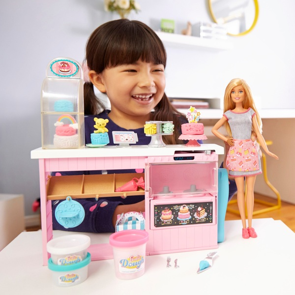 Barbie Cake Decorating Playset and Doll