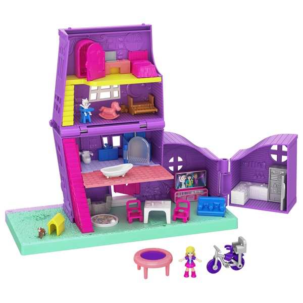 Polly Pocket Pollyville Pocket House
