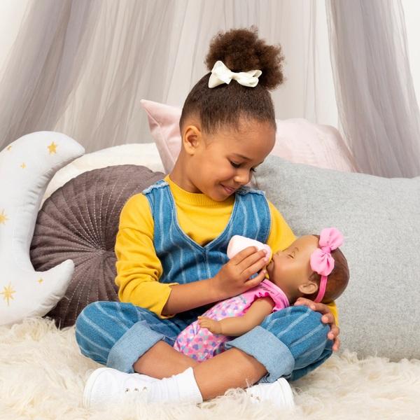Luvabella Newborn Dark Brown Hair Interactive Baby Doll