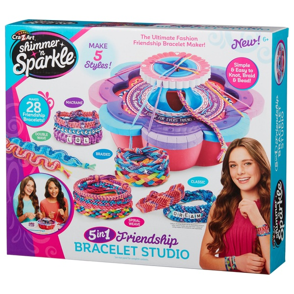 Shimmer 'n Sparkle 5 in 1 Friendship Bracelet Studio