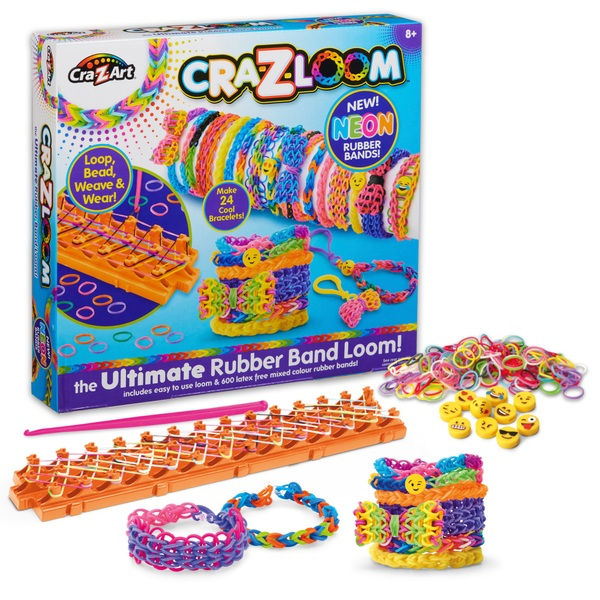 Cra-Z-Loom The Ultimate Rubber Band Loom