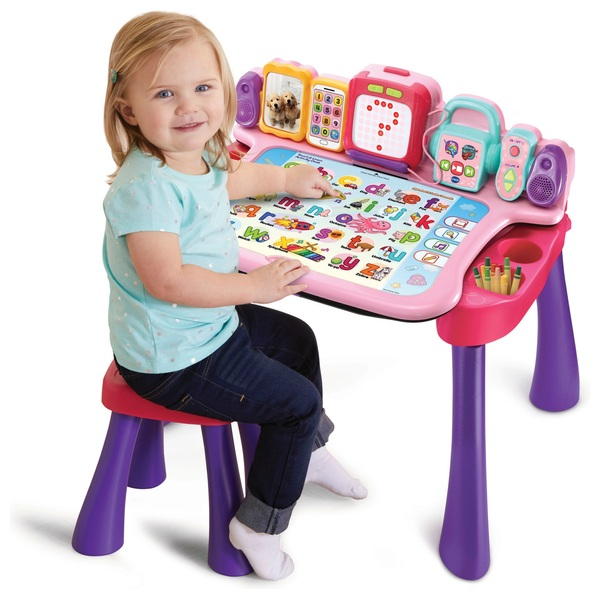VTech Touch & Learn Activity Desk Pink
