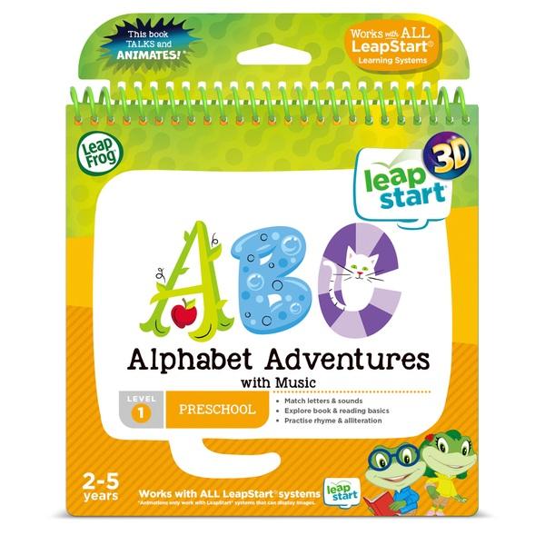 LeapFrog Alphabet Adventures Activity book