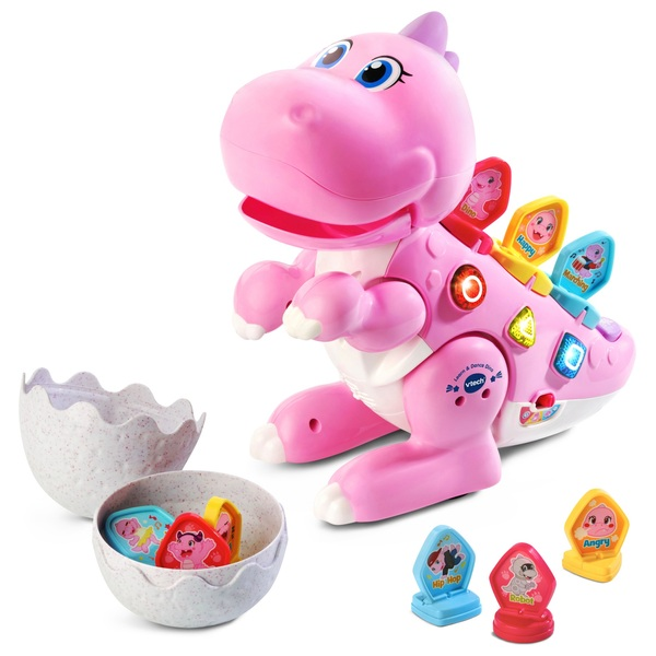 VTech Learn and Dance Dino Pink