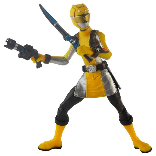 Power Rangers Beast Morphers Yellow Ranger 15cm - Power Rangers UK