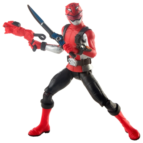 Power Rangers Beast Morphers Red Ranger 15cm