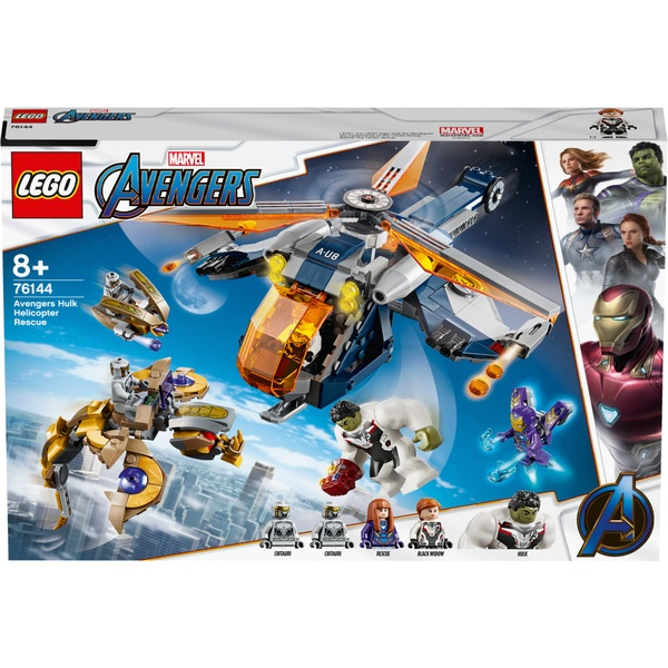LEGO 76144 Marvel Super Heroes Avengers Hulk Helicopter Rescue