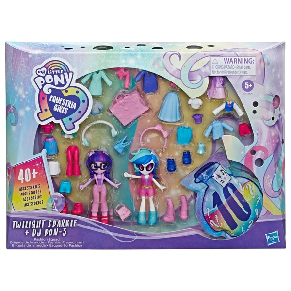 My Little Pony Equestria Girls Fashion Squad Best Friends Assortment