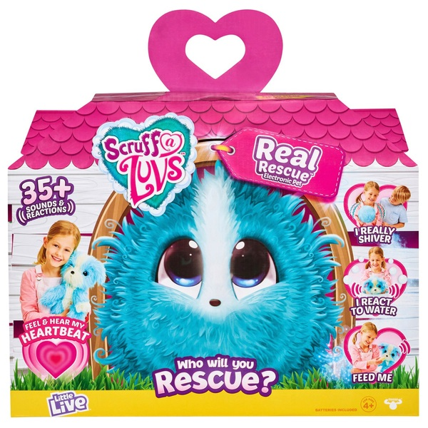 Scruff-a-Luvs Electronic Rescue Pet Surprise Soft Toy – My Real Rescue