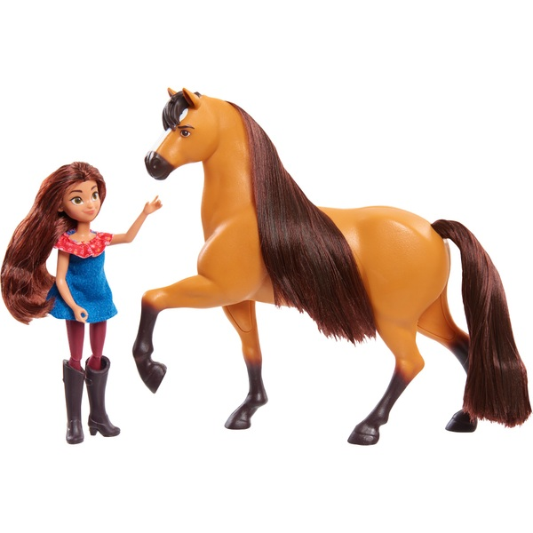 DreamWorks Spirit Classic Horse and Doll - Spirit and Lucky