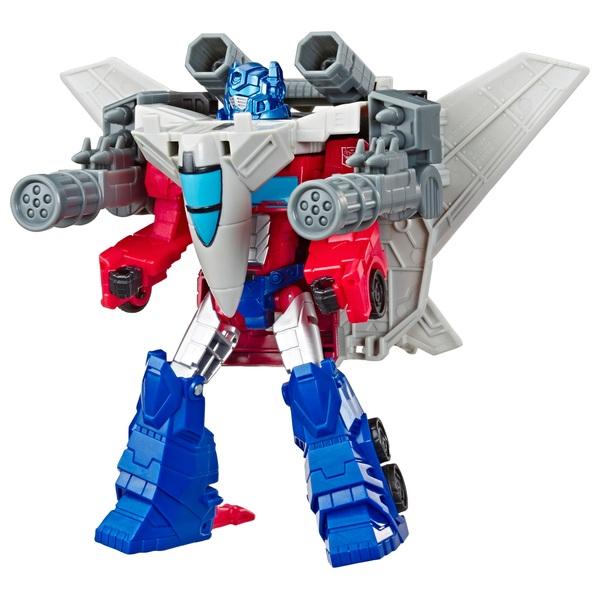 Optimus Prime - Transformers Cyberverse Spark Armour Elite Action Figure