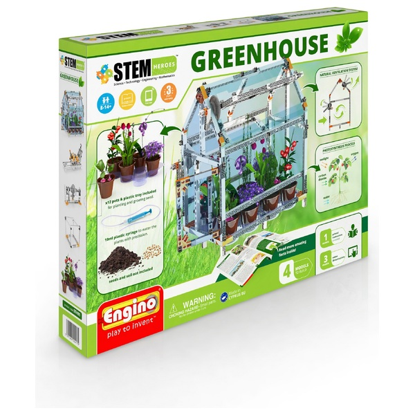 Engino STEM Heroes Greenhouse