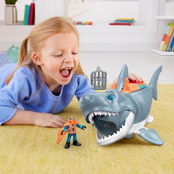 Imaginext Core Mega Shark Bite Playset