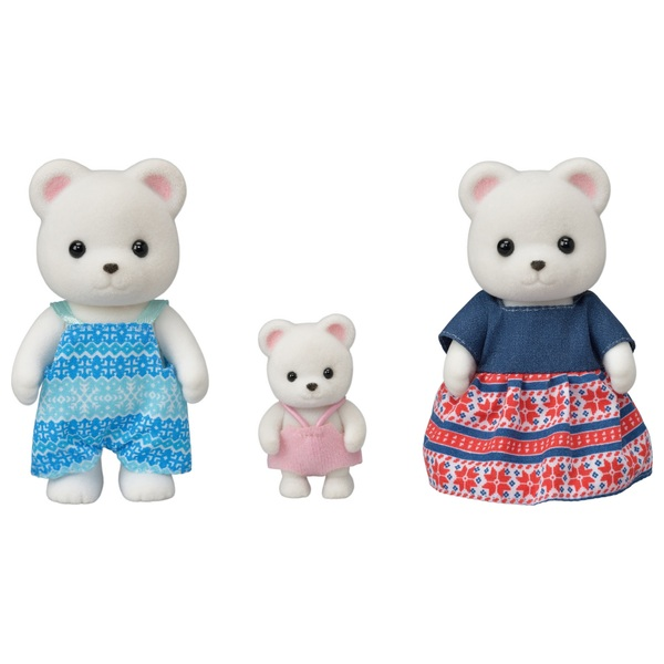 Sylvanian Families Polar Bear Family 3 Pack
