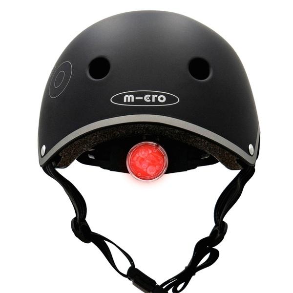 Micro Deluxe Helmet Black 54-58cm