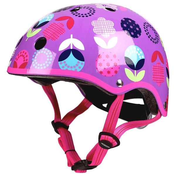 Micro Deluxe Helmet Floral Dot 48-54cm