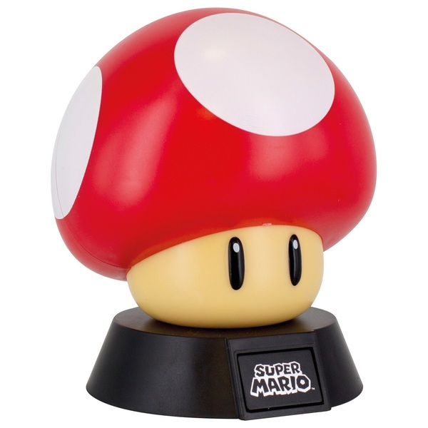 Super Mario Bros. Power-Up Pilz 3D Lampe