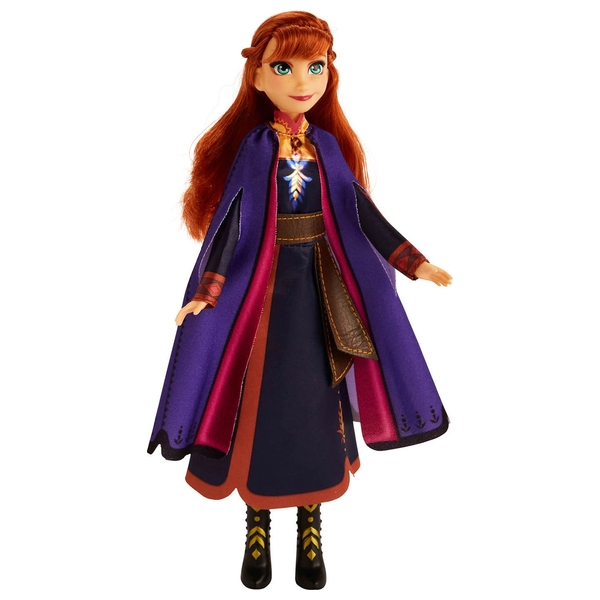Disney Frozen 2 Singing Anna Fashion Doll