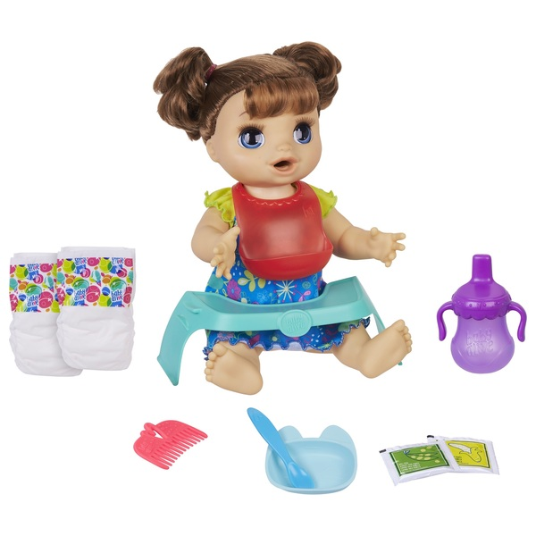 Baby Alive Happy Hungry Baby Brown Hair