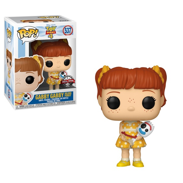 POP! Vinyl Toy Story 4 Gabby with Forky