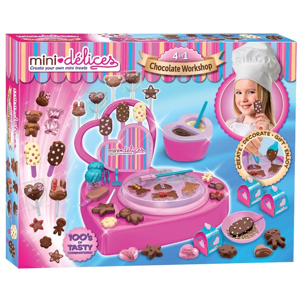 Mini Delices 4 -in-1 Chocolate Workshop