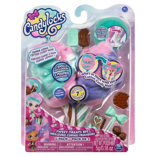 Candylocks Sweet Treats BFFs - Mint Choco Chick and Choco Lisa