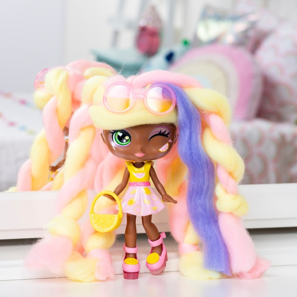 Candylocks Lacey Lemonade Sugar Style Deluxe Scented Collectible Doll
